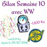 {★ Bilan Semaine #10 ~~ Weight Watchers ★}