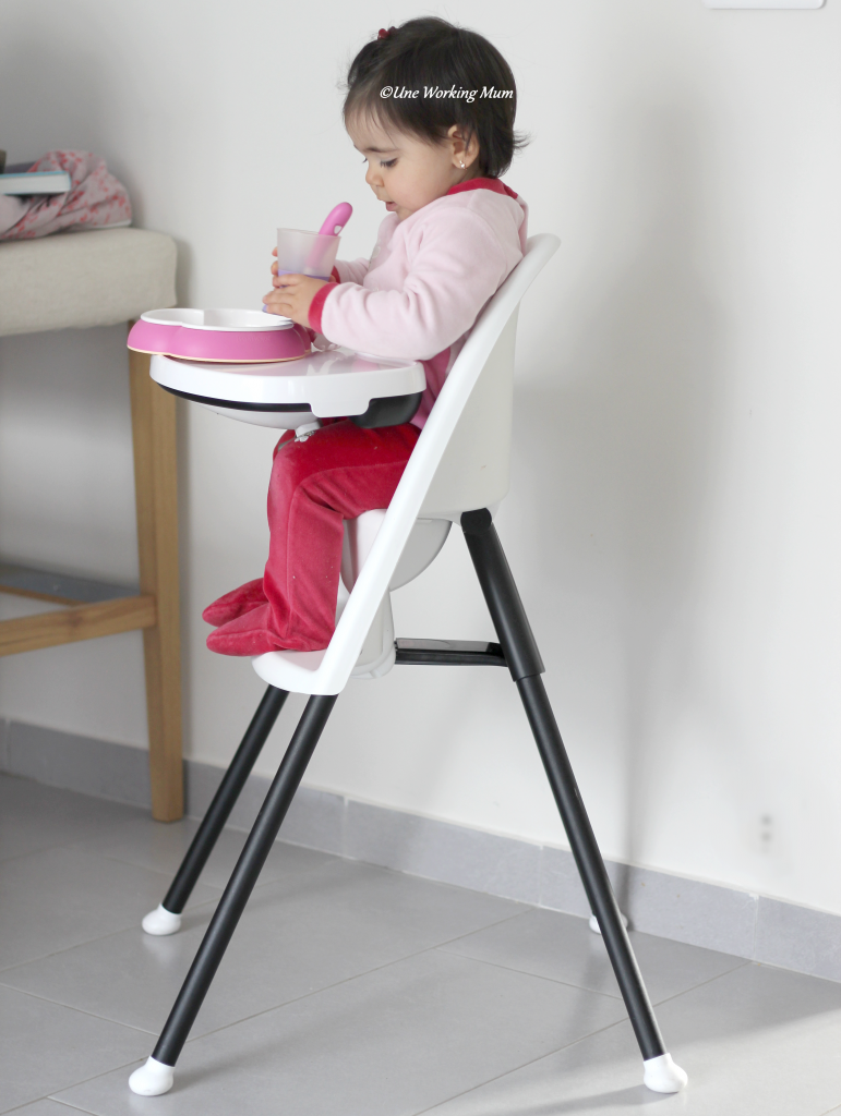 On a test la chaise haute babybjorn for Chaise haute babybjorn